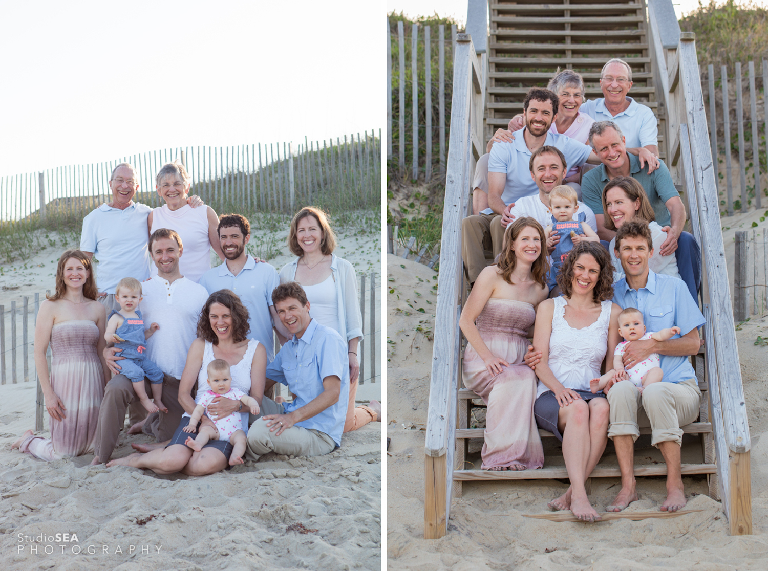 Outer Banks Family Portrait