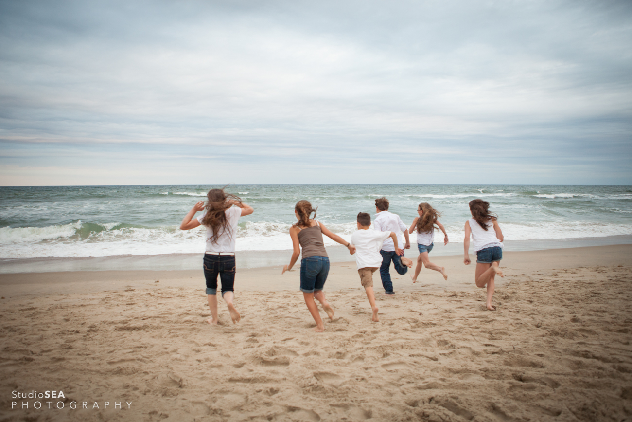 Outer Banks family portrait session