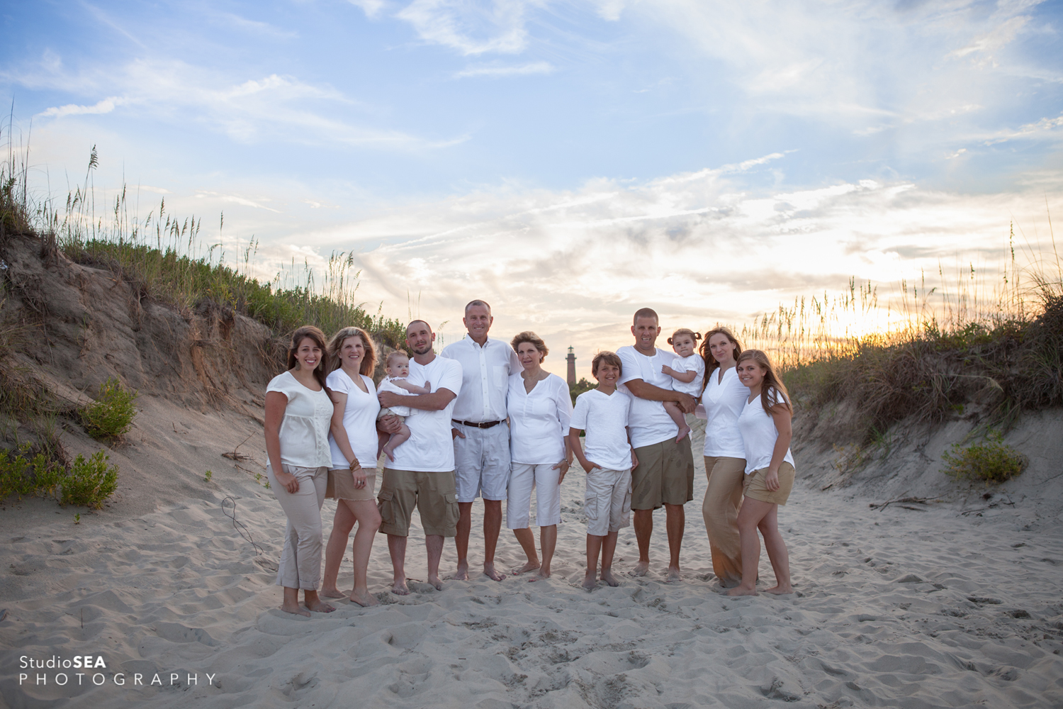 Outer Banks Family Beach Portrait